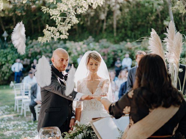 Il matrimonio di Luca e Silvia a Buti, Pisa 61