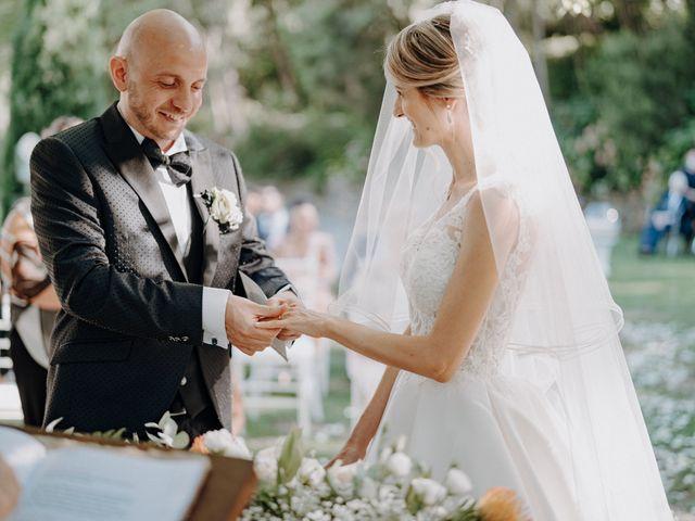 Il matrimonio di Luca e Silvia a Buti, Pisa 67