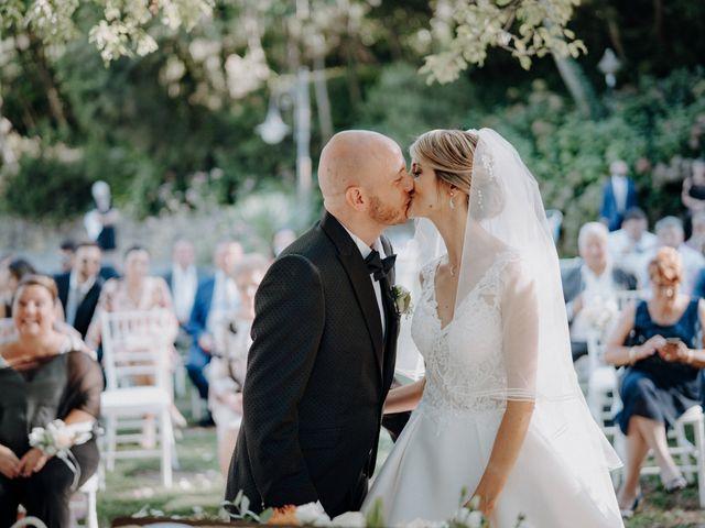Il matrimonio di Luca e Silvia a Buti, Pisa 70
