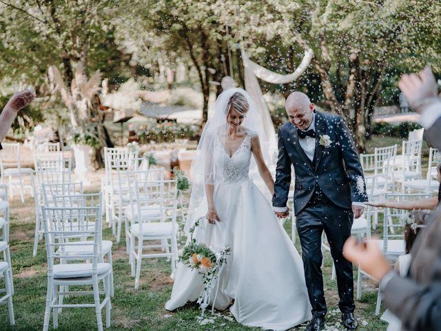 Il matrimonio di Luca e Silvia a Buti, Pisa 72