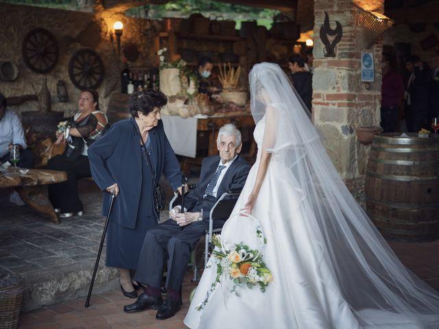 Il matrimonio di Luca e Silvia a Buti, Pisa 74
