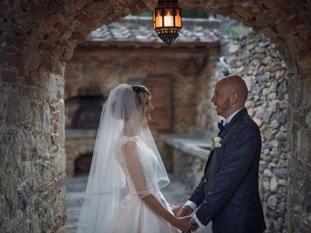 Il matrimonio di Luca e Silvia a Buti, Pisa 75