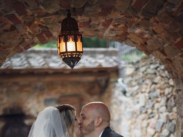 Il matrimonio di Luca e Silvia a Buti, Pisa 76