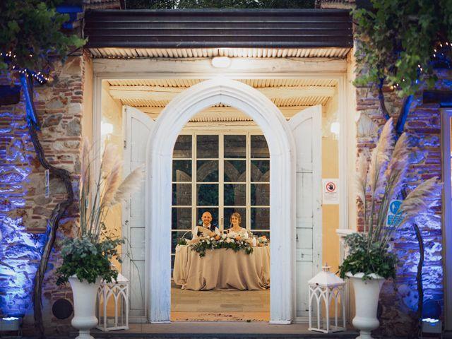 Il matrimonio di Luca e Silvia a Buti, Pisa 89