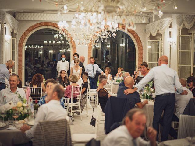 Il matrimonio di Luca e Silvia a Buti, Pisa 93