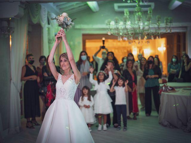 Il matrimonio di Luca e Silvia a Buti, Pisa 107