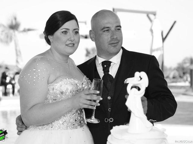 le nozze di Cristina e Angelo