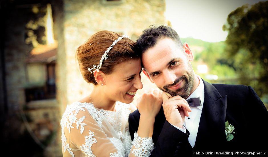 Il matrimonio di Daniele e Alessandra a Subbiano, Arezzo