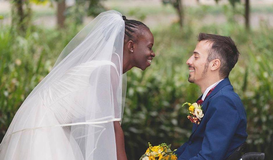 Il matrimonio di Barkissa e Rolando a Besenzone, Piacenza