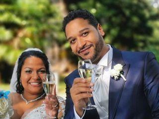 Le nozze di Keveena e Massimo