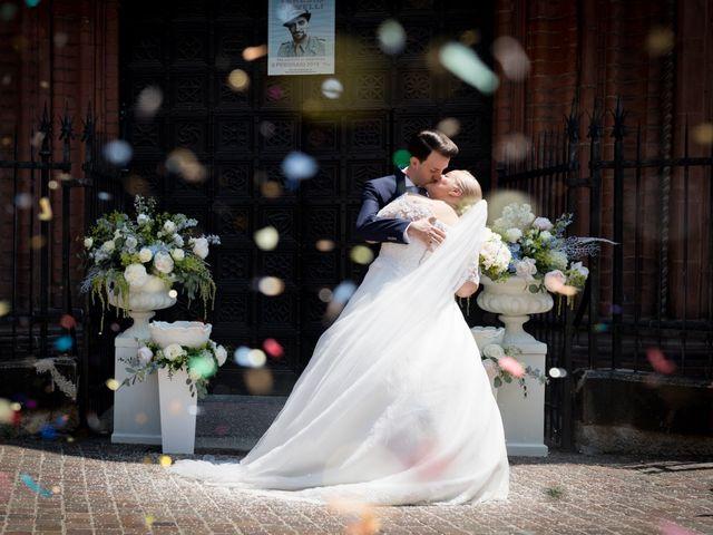 Il matrimonio di Riccardo e Federica a Cervesina, Pavia 29