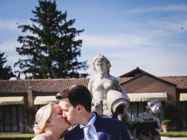 Il matrimonio di Riccardo e Federica a Cervesina, Pavia 47