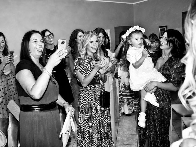 Il matrimonio di Loris e Claudia a Acquafredda, Brescia 24