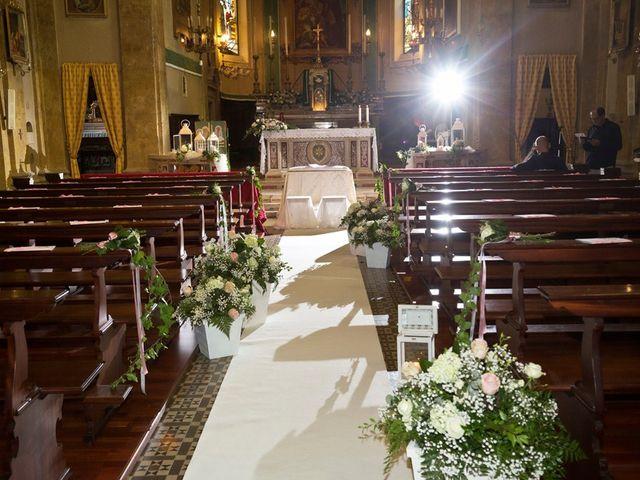 Il matrimonio di Loris e Claudia a Acquafredda, Brescia 25