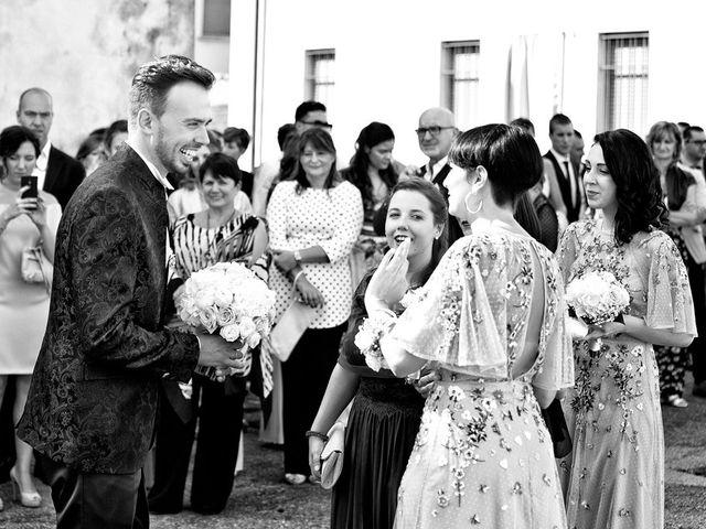 Il matrimonio di Loris e Claudia a Acquafredda, Brescia 31