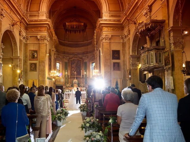 Il matrimonio di Loris e Claudia a Acquafredda, Brescia 40