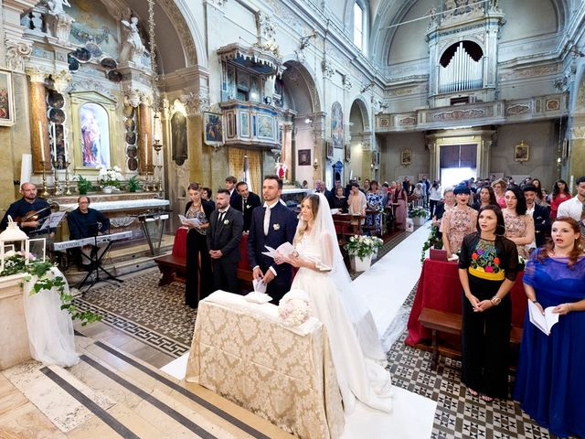Il matrimonio di Loris e Claudia a Acquafredda, Brescia 43