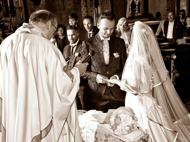 Il matrimonio di Loris e Claudia a Acquafredda, Brescia 45