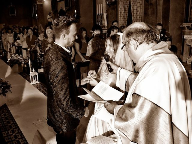 Il matrimonio di Loris e Claudia a Acquafredda, Brescia 46