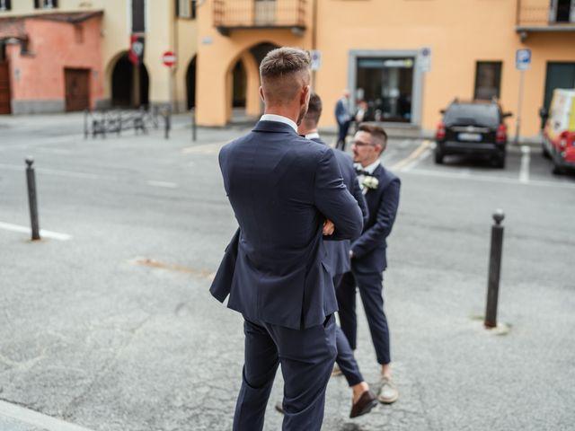 Il matrimonio di Luca e Stefania a Racconigi, Cuneo 50