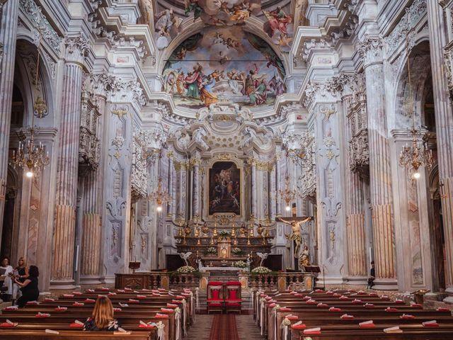 Il matrimonio di Luca e Stefania a Racconigi, Cuneo 52