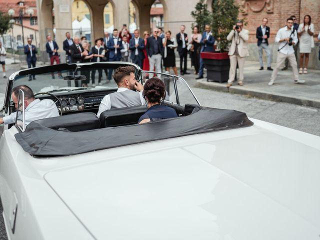 Il matrimonio di Luca e Stefania a Racconigi, Cuneo 56