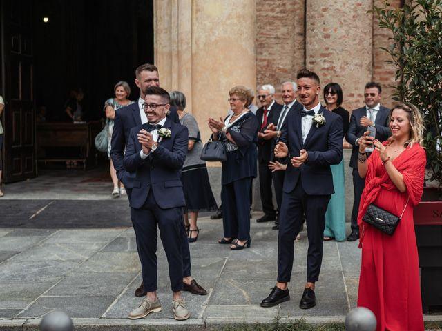 Il matrimonio di Luca e Stefania a Racconigi, Cuneo 57