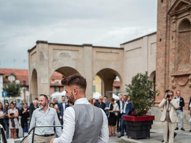 Il matrimonio di Luca e Stefania a Racconigi, Cuneo 60