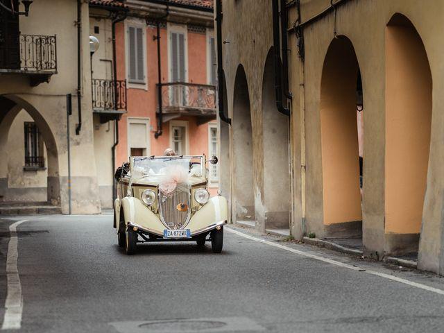 Il matrimonio di Luca e Stefania a Racconigi, Cuneo 66