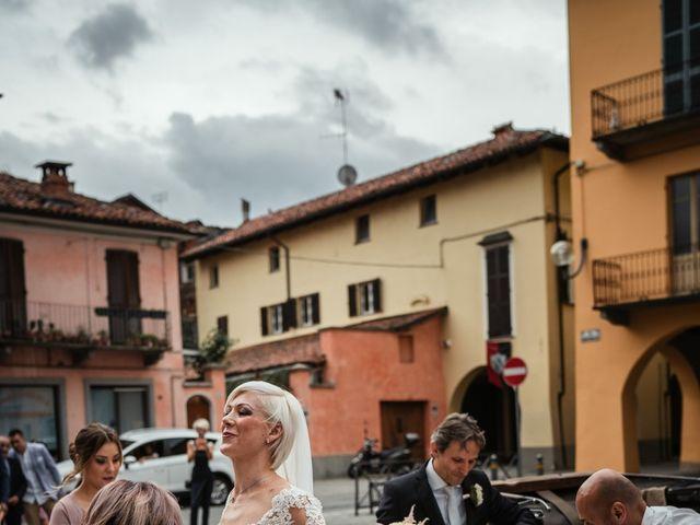 Il matrimonio di Luca e Stefania a Racconigi, Cuneo 69