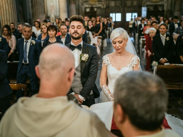 Il matrimonio di Luca e Stefania a Racconigi, Cuneo 87
