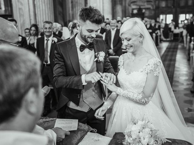Il matrimonio di Luca e Stefania a Racconigi, Cuneo 93