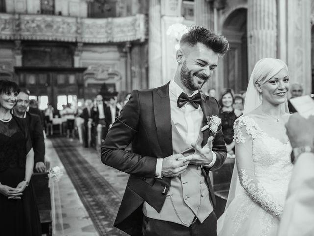 Il matrimonio di Luca e Stefania a Racconigi, Cuneo 99