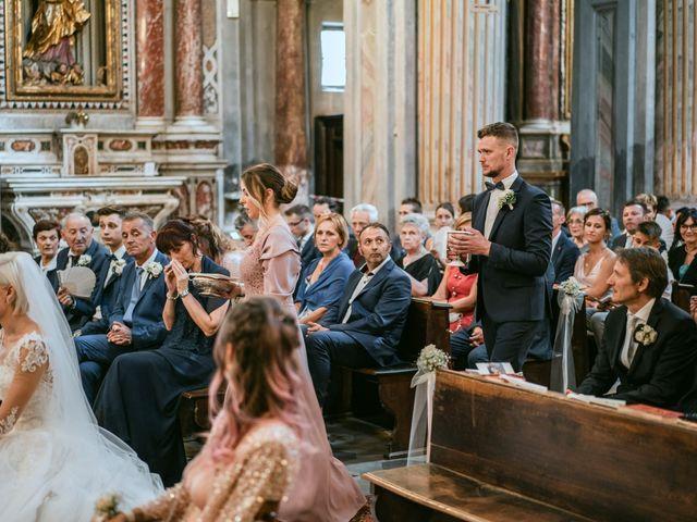Il matrimonio di Luca e Stefania a Racconigi, Cuneo 105
