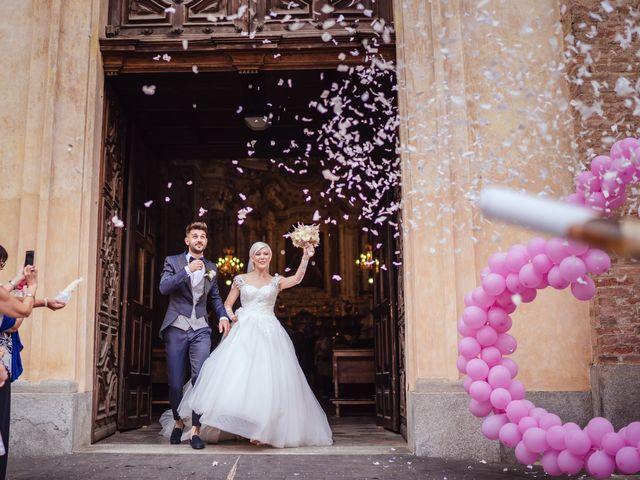 Il matrimonio di Luca e Stefania a Racconigi, Cuneo 132