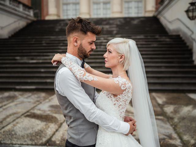 Il matrimonio di Luca e Stefania a Racconigi, Cuneo 156