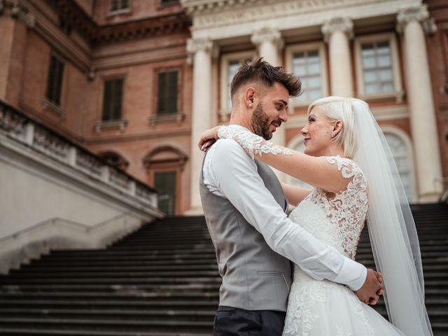 Il matrimonio di Luca e Stefania a Racconigi, Cuneo 157
