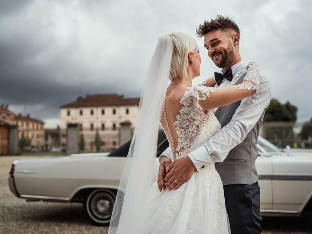 Il matrimonio di Luca e Stefania a Racconigi, Cuneo 158