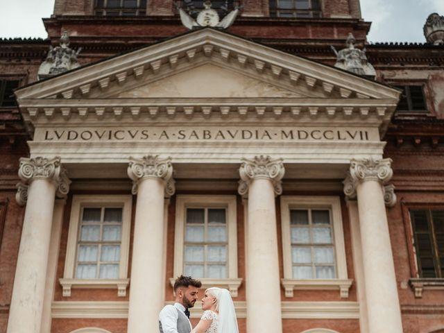 Il matrimonio di Luca e Stefania a Racconigi, Cuneo 163