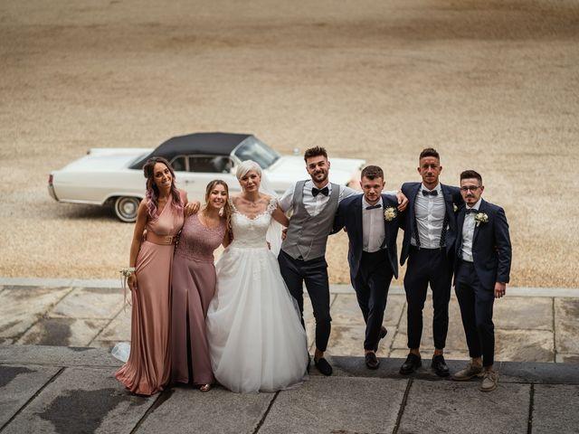 Il matrimonio di Luca e Stefania a Racconigi, Cuneo 166