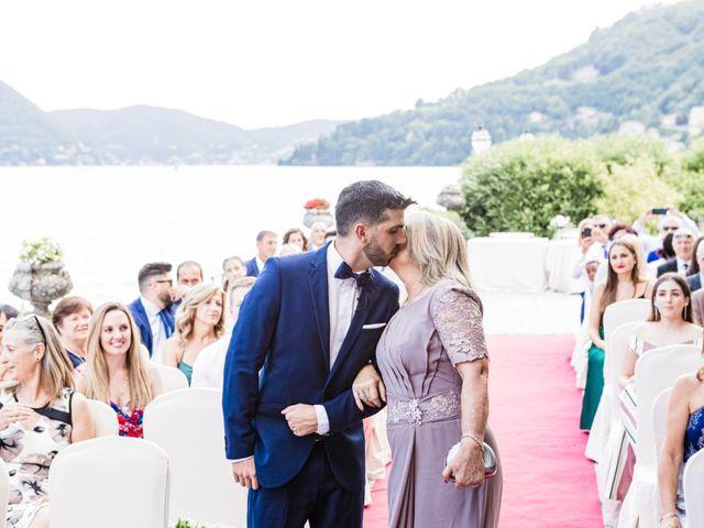 Il matrimonio di Marco e Stefania a Moltrasio, Como 35