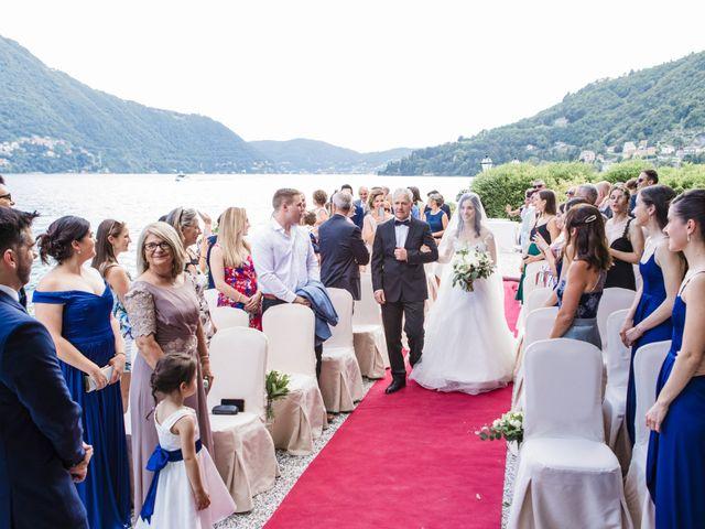 Il matrimonio di Marco e Stefania a Moltrasio, Como 37