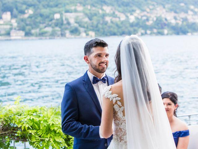 Il matrimonio di Marco e Stefania a Moltrasio, Como 43