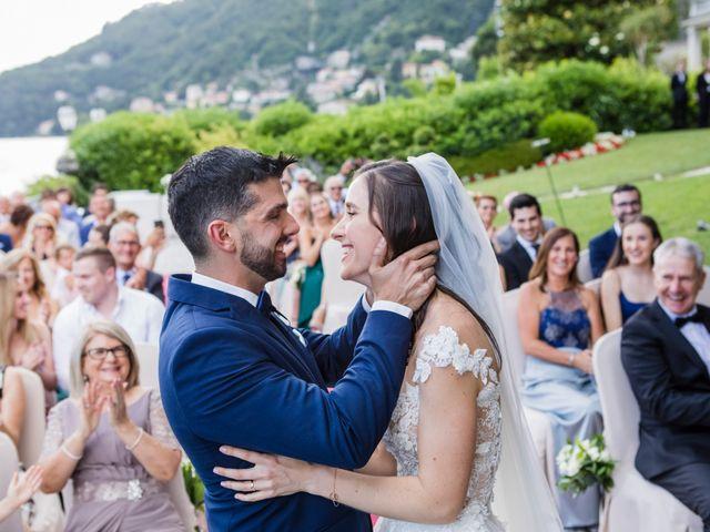 Il matrimonio di Marco e Stefania a Moltrasio, Como 52