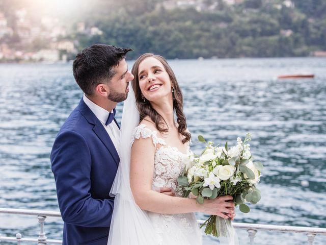 Il matrimonio di Marco e Stefania a Moltrasio, Como 61