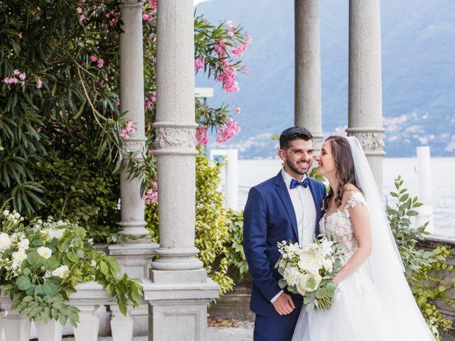 Il matrimonio di Marco e Stefania a Moltrasio, Como 63