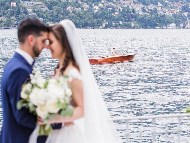 Il matrimonio di Marco e Stefania a Moltrasio, Como 69