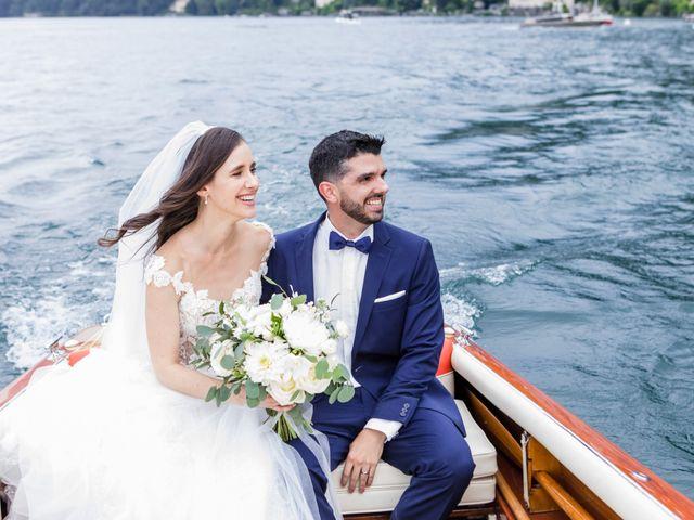 Il matrimonio di Marco e Stefania a Moltrasio, Como 73