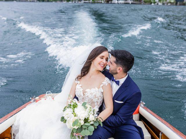 Il matrimonio di Marco e Stefania a Moltrasio, Como 74