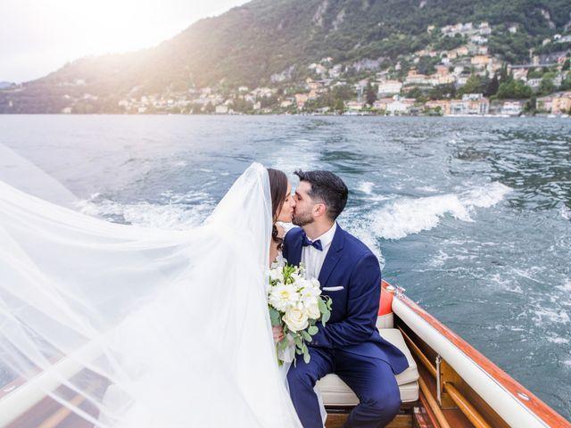 Il matrimonio di Marco e Stefania a Moltrasio, Como 75
